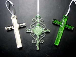 Cremation wall crosses