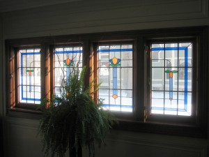 Nouveau styled windows