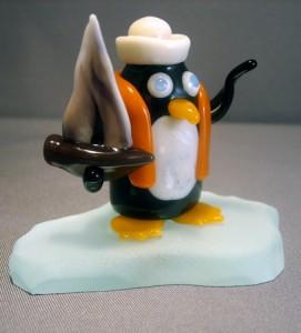 Sailing penguin