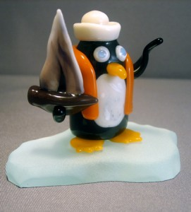 Sailing penguin